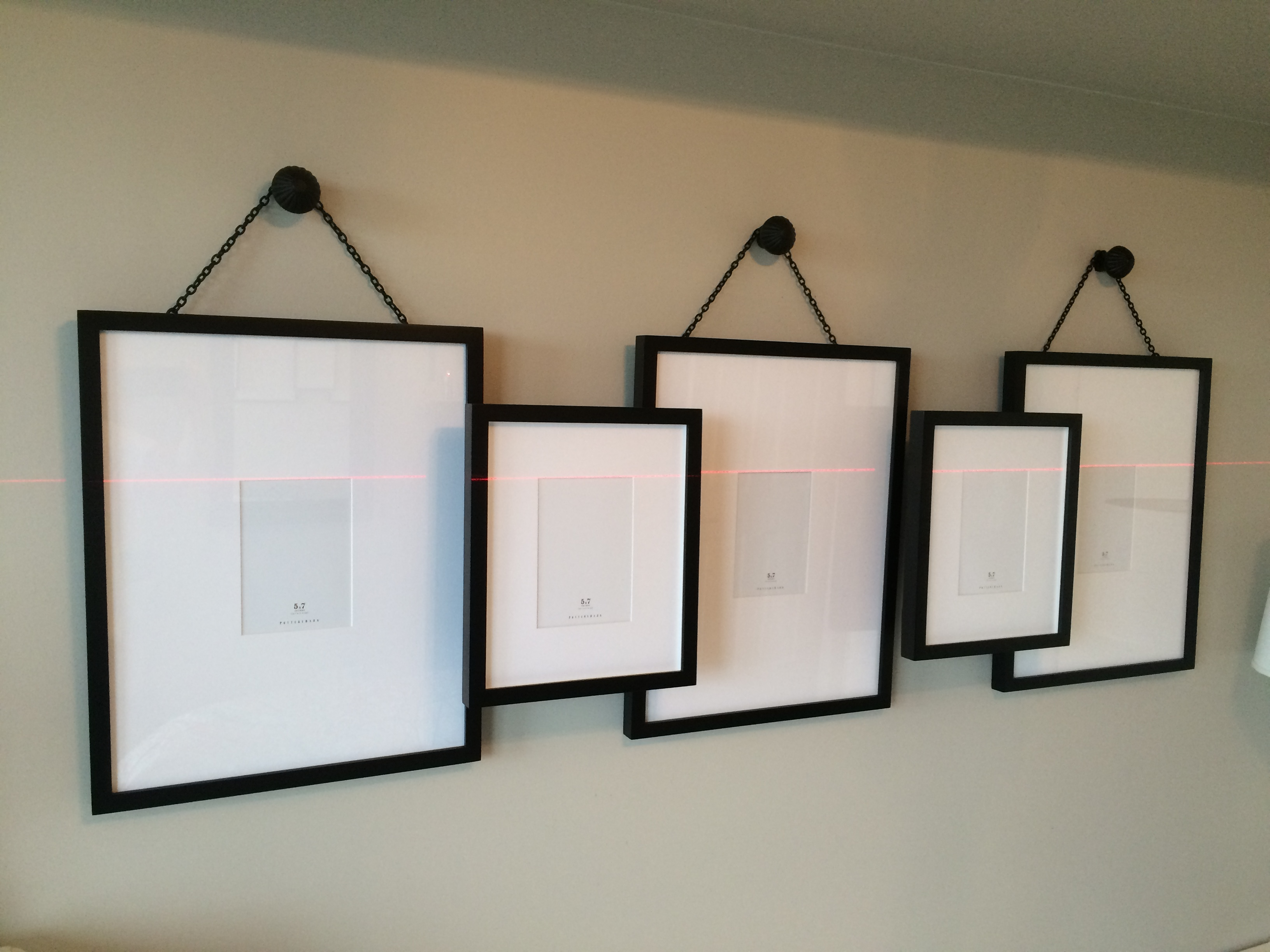 picture hanging the straight and level. Black Bedroom Furniture Sets. Home Design Ideas
